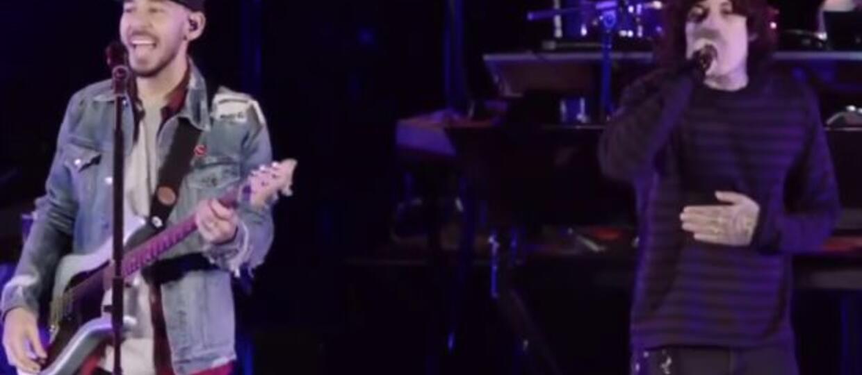 Czy Oli Sykes śpiewał z playbacku na koncercie pamięci Chestera Benningtona?