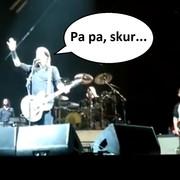 Dave Grohl skomentował wyjście fanów przed końcem koncertu Foo Fighters