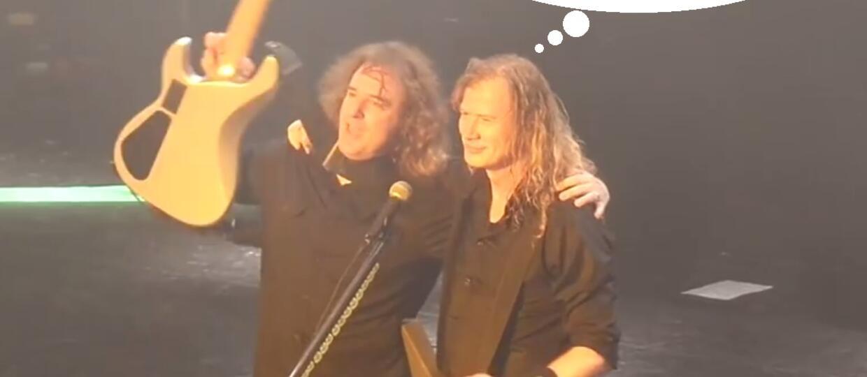 Dave Mustaine: David Ellefson nie był współzałożycielem Megadeth