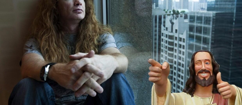 Dave Mustaine: Jezus pomaga mi przetrwać każdy dzień