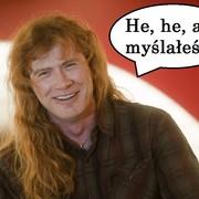 Dave Mustaine nie podpisze Larsa Ulricha pod utworami Metalliki, które skomponował