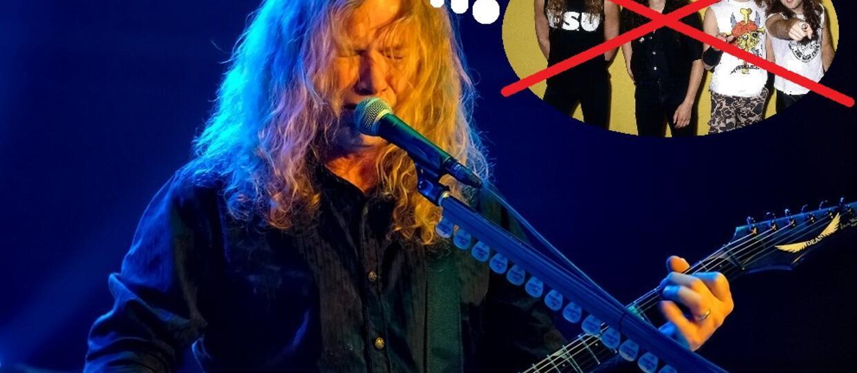 Dave Mustaine: Założyłem Megadeth, bo chciałem zniszczyć Metallikę