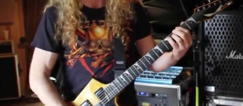"""Dave Mustaine zwolnił producenta """"Rust in Peace"""", bo... też nazywał się Dave"""