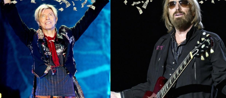 David Bowie i Tom Petty wśród najlepiej zarabiających nieżyjących celebrytów w 2017