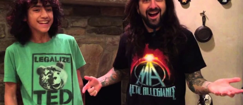 Dlaczego Mike Portnoy nie uczy syna gry na perkusji?