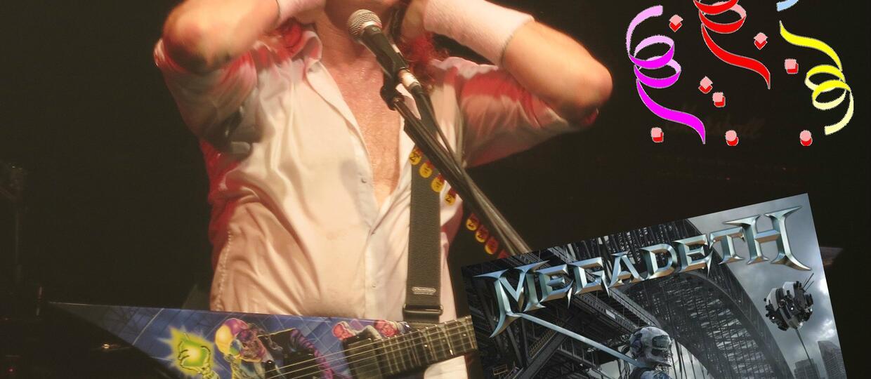 """""""Dystopia"""" największym sukcesem Megadeth od 24 lat"""