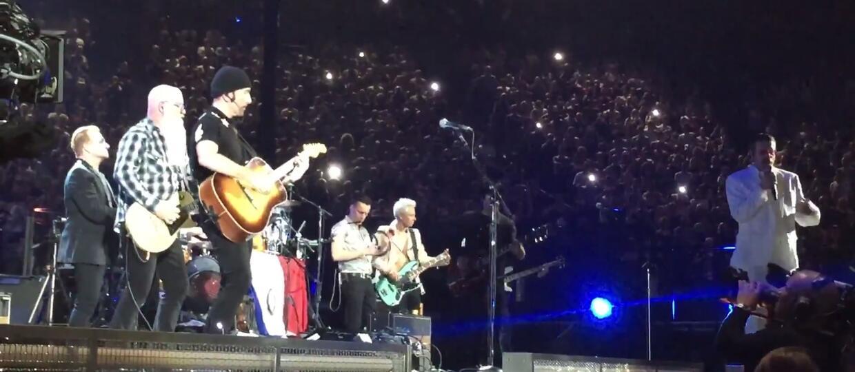 Eagles of Death Metal wystąpił z U2 w Paryżu