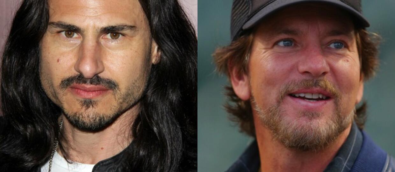 Brad Wilk i Eddie Vedder