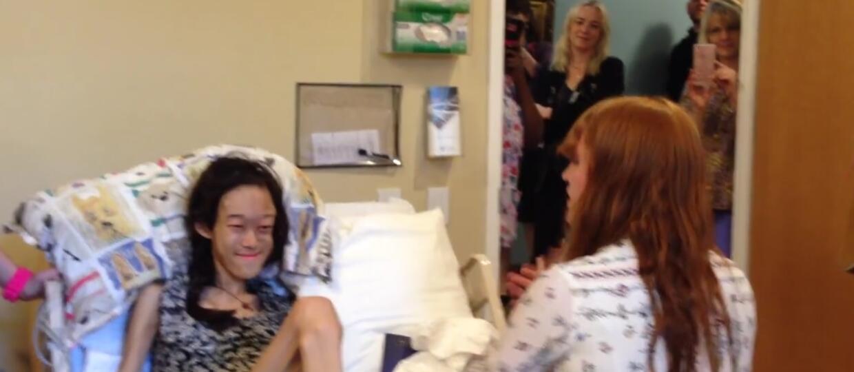 Florence Welch odwiedziła fankę w hospicjum