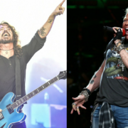 Dave Grohl i Axl Rose