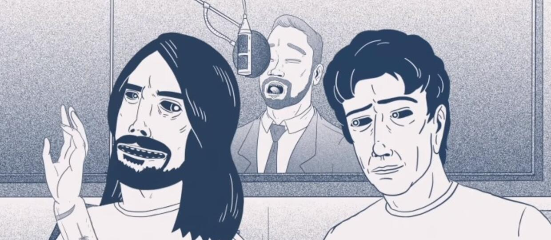"Foo Fighters prezentuje animowane making of płyty ""Concrete And Gold"""