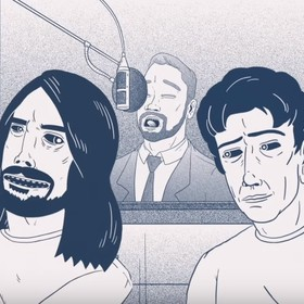 "Foo Fighters prezentuje animowane making of płyty ""Concrete And Gold"""