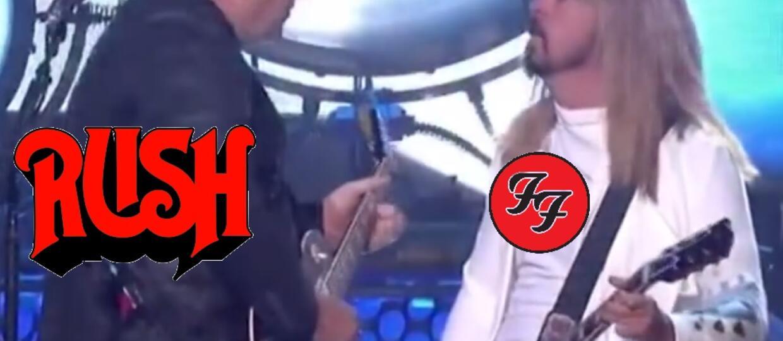 """Foo Fighters scoverował Rush z okazji 40. rocznicy wydania """"2112"""""""