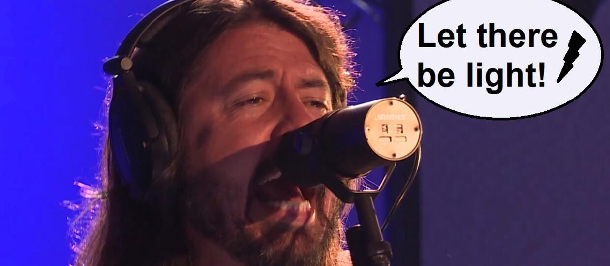 "Foo Fighters w energetycznym coverze ""Let There Be Rock"" AC/DC"
