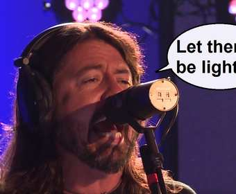 """Foo Fighters w energetycznym coverze """"Let There Be Rock"""" AC/DC"""