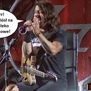 Foo Fighters zabrania wnoszenia na koncerty kos, mleka orzechowego i pirackich kaset VHS