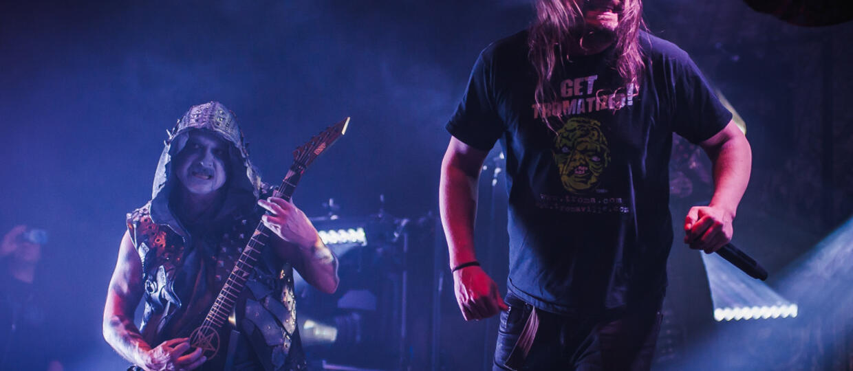 Lars-Göran Petrov i Dimmu Borgir
