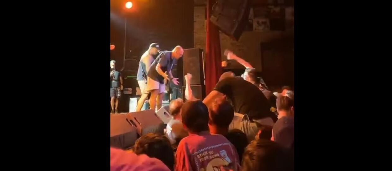Wokalista wygonił z koncertu ochroniarza