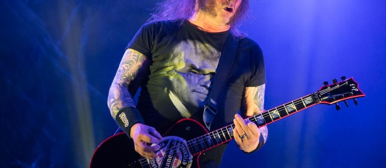 Gary Holt z grupy Slayer