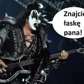 Gene Simmons: Żądamy od tribute bandów Kiss listów z podziękowaniami, że dzięki nam mogą istnieć