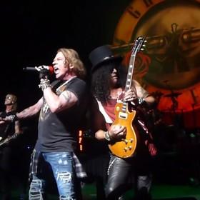 Guns N' Roses dał rocznicowy koncert dla wybranych fanów