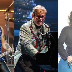 Slash, Elton John, Dave Grohl