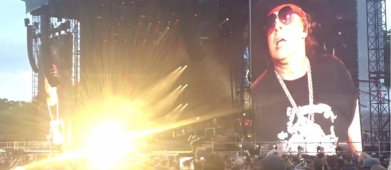 "Guns N' Roses zagrał ""Black Hole Sun"" Soundgarden"