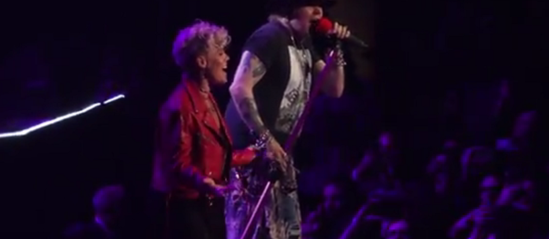 Guns N' Roses zaprosił na scenę Pink