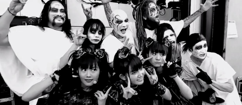 Head z Korna wystąpił na scenie z Babymetalem
