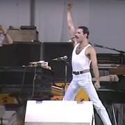 "Foto: kadr z wideo ""Live Aid- Queen- Full Set HQ"""