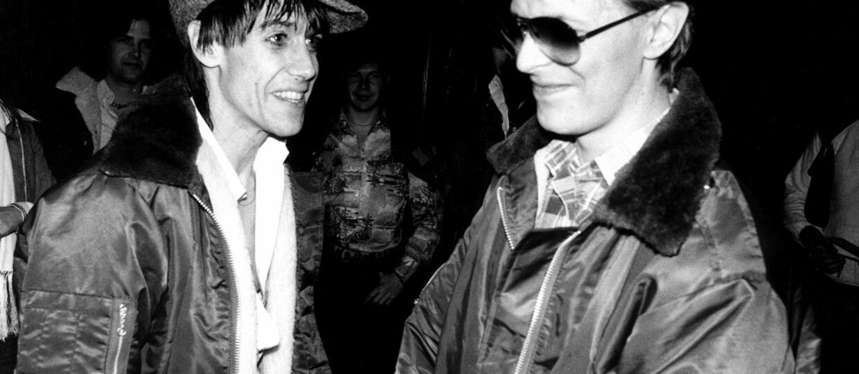 Iggy Pop w coverze Davida Bowiego