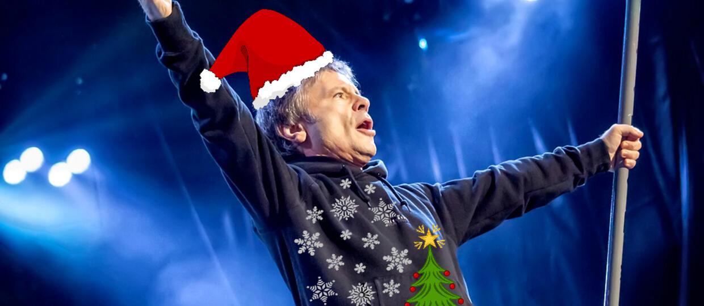 Iron Maiden pokazał brzydki sweter na Święta