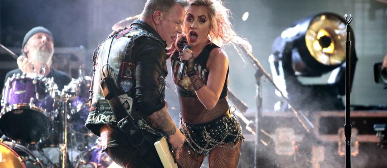Jak brzmiał występ Metalliki i Lady Gagi z działającym mikrofonem?