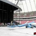 Przygotowania do koncertu Bon Jovi