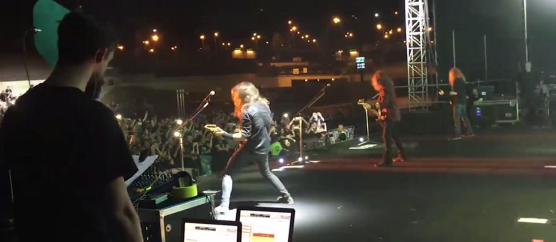 Jak wygląda życie w trasie Megadeth?