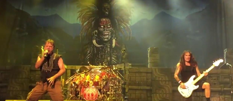 Jak wyglądał pierwszy koncert Iron Maiden w 2016?