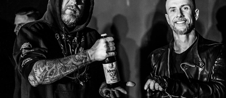 """Jak wyglądała premiera piwa """"Fenix"""" od Behemotha i Browaru Perun?"""
