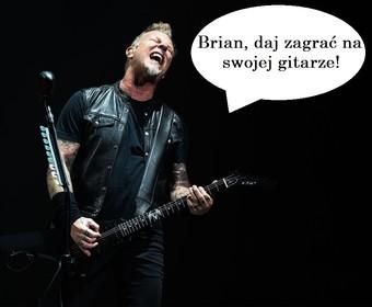 James Hetfield: Jeżeli dożyję do 70., chcę być tak wyluzowany jak Brian May
