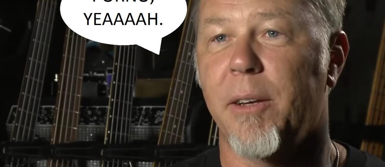 James Hetfield opowie o uzależnieniu od pornografii
