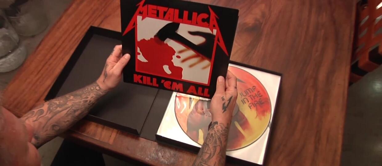 """James Hetfield pokazał reedycję """"Kill 'Em All"""""""