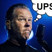 James Hetfield spadł ze sceny na koncercie Metalliki