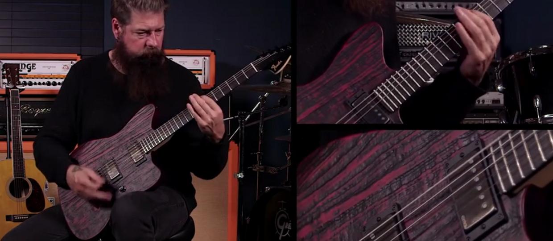 """Jim Root uczy grać """"The Devil In I"""" Slipknota"""