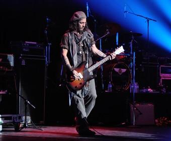 Johnny Depp pojawił się na próbie Stone Temple Pilots