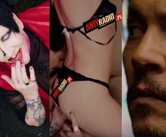 "Johnny Depp w seksownym teledysku do ""KILL4ME"" Marilyna Mansona"