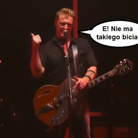 Josh Homme przerwał koncert QOTSA, by powstrzymać bijatykę
