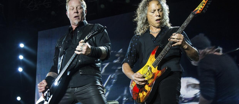 Kirk Hammett: James Hetfield to poeta