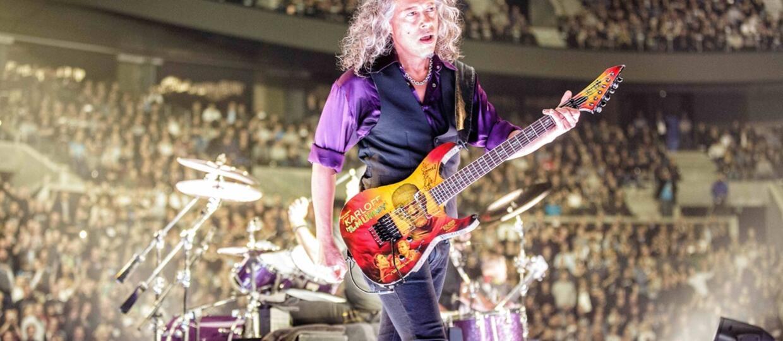 """Kirk Hammett: Nie pamiętam nagrań solówki w """"Moth Into Flame"""""""