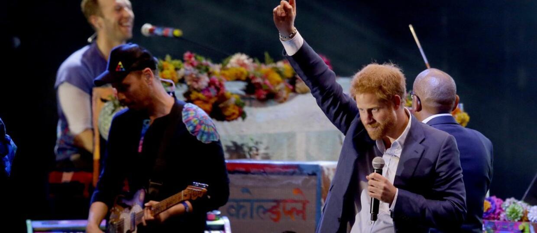 Książę Harry dołączył do Coldplay