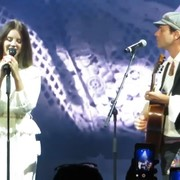 Lana Del Rey i syn Leonarda Cohena
