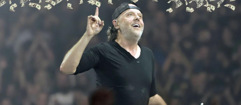 Lars Ulrich: Co pieniądze znaczą dla Metalliki